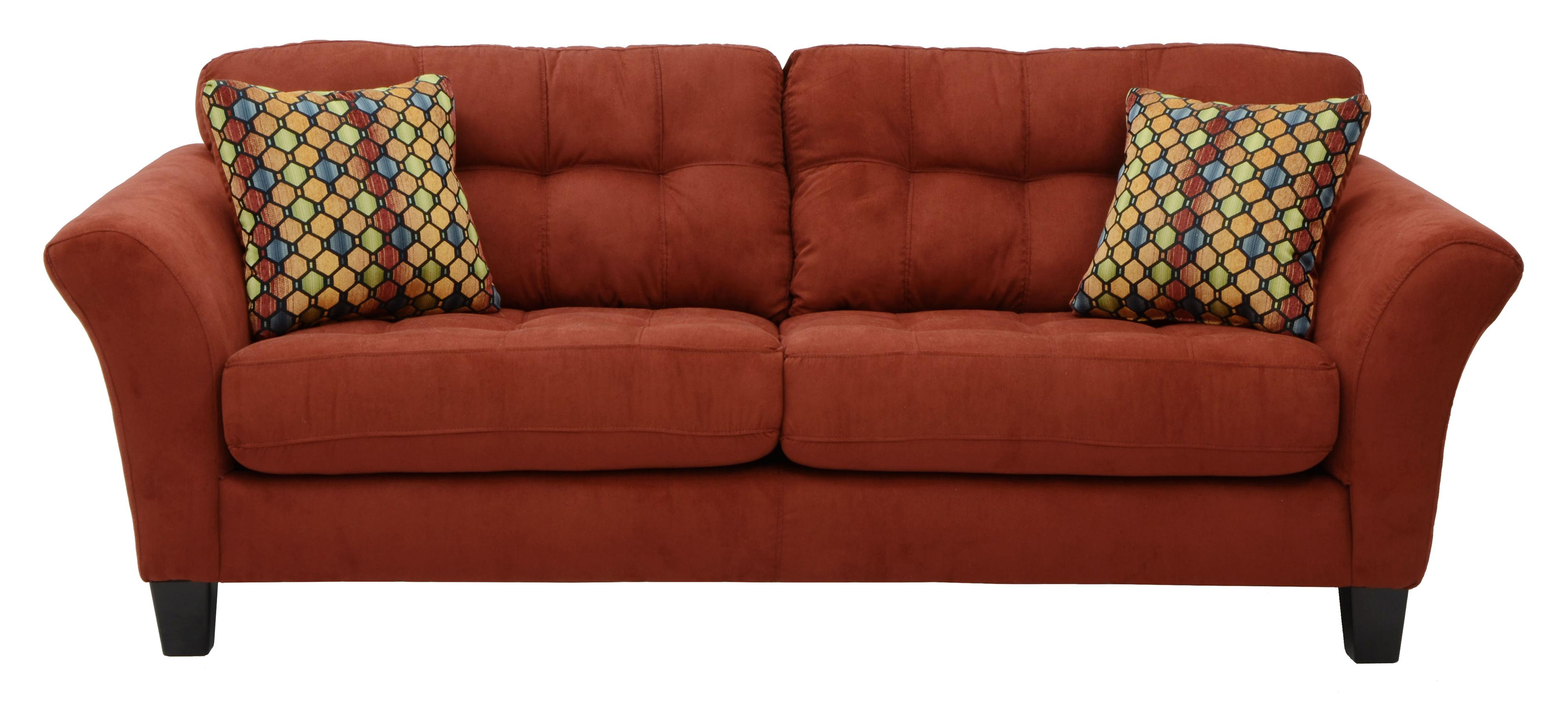 Merveilleux Sofa With 2 Seats And Tufted Back Cushions