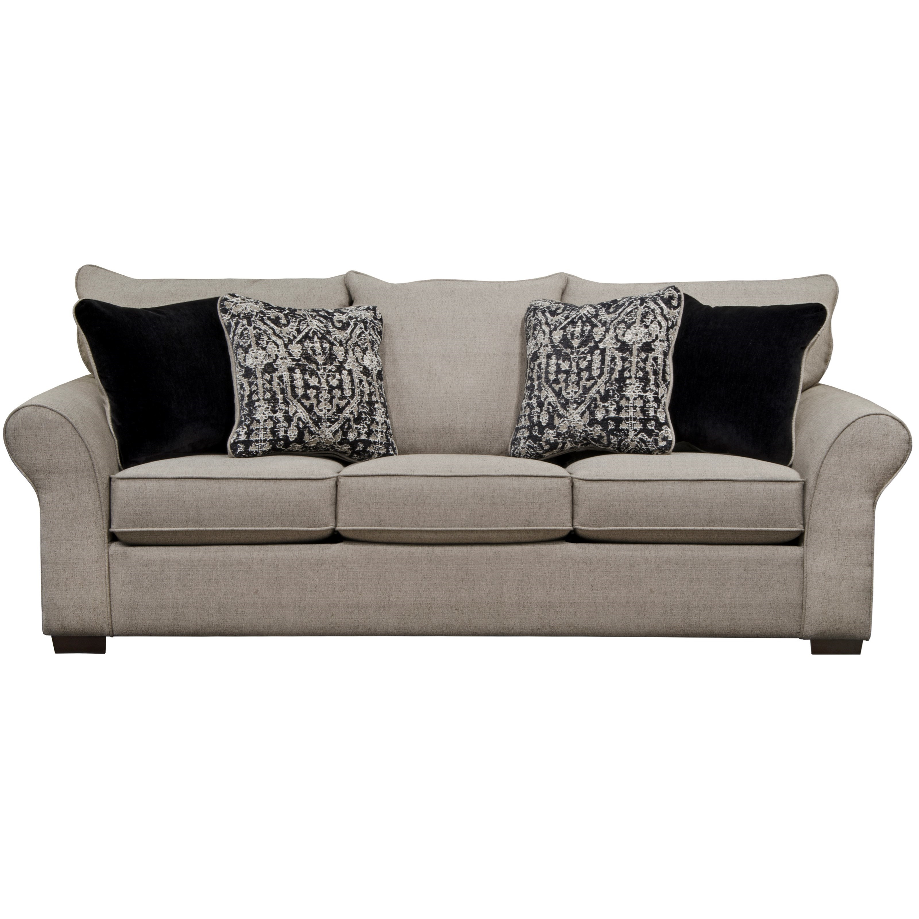 Different Types Of Sofa Settee Sock Arm: Transitional Sofa With Sock Arms By Jackson Furniture
