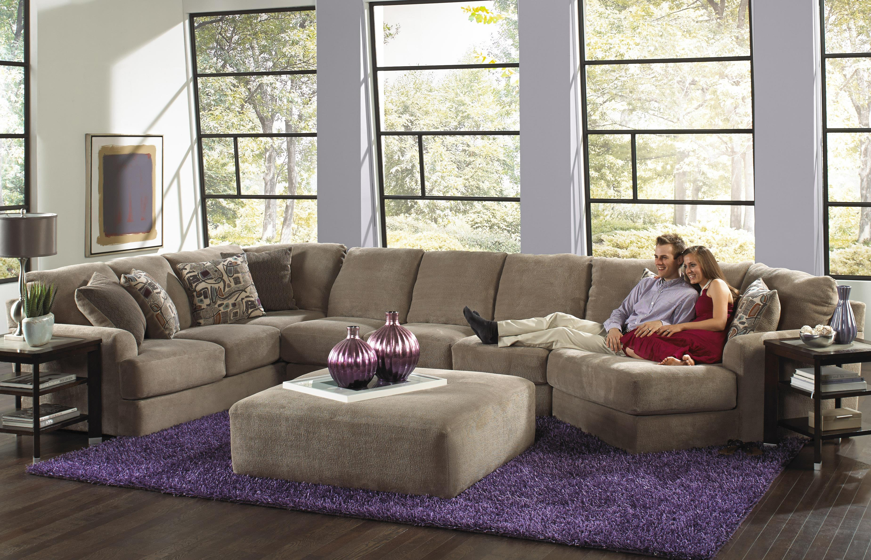 Six Seat Sectional Sofa by Jackson Furniture