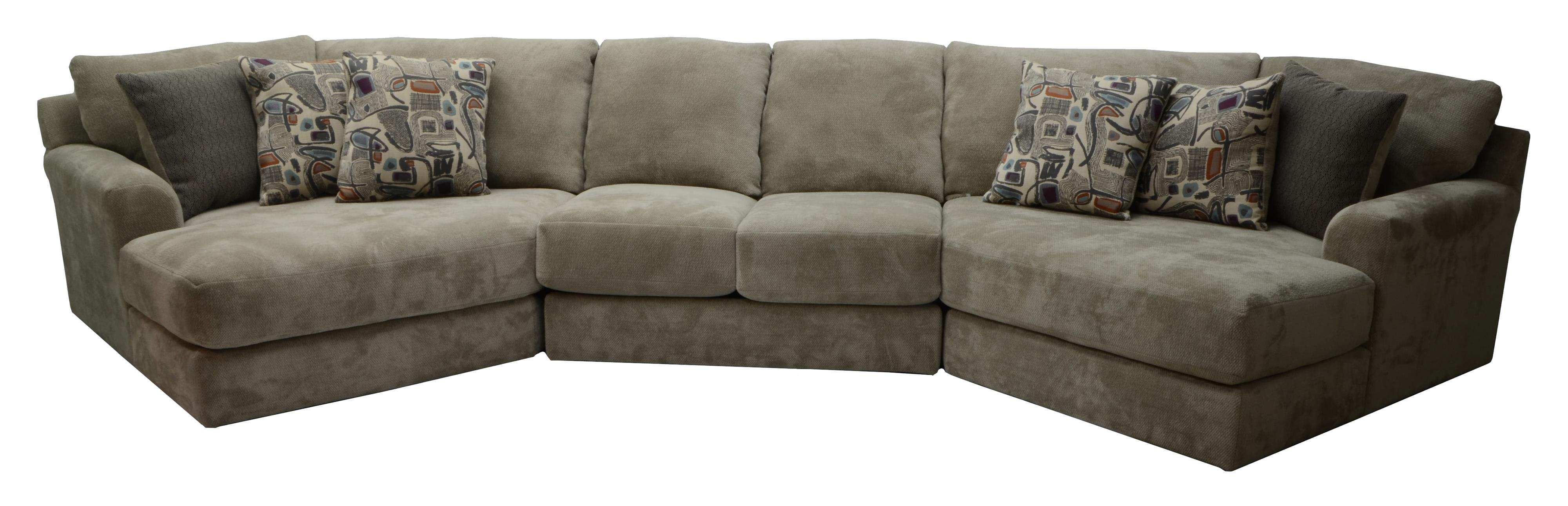 Four Seat Sectional Sofa by Jackson Furniture | Wolf Furniture