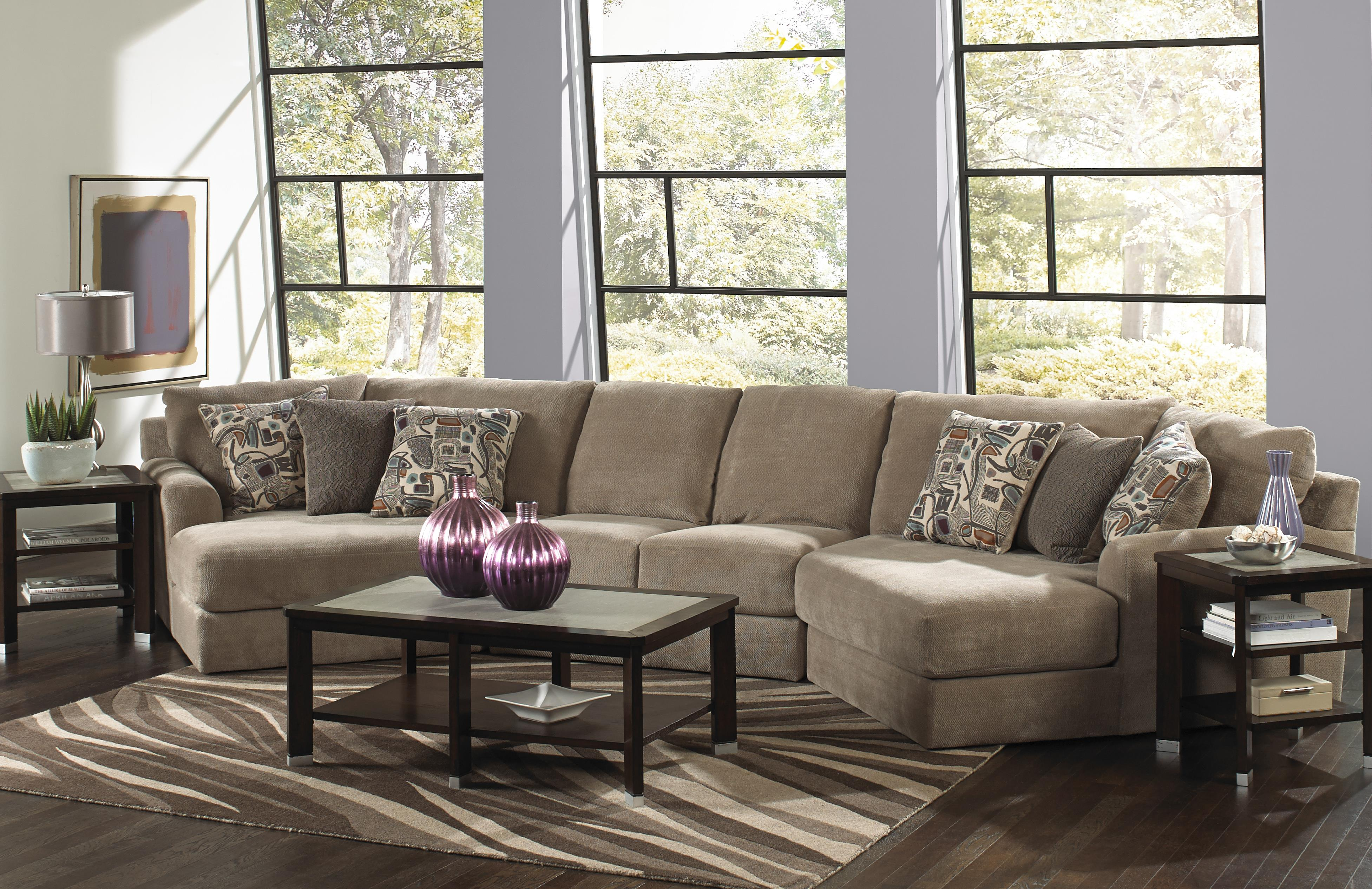 Whole Living Room Sets Four Seat Sectional Sofa By Jackson Furniture Wolf And Gardiner
