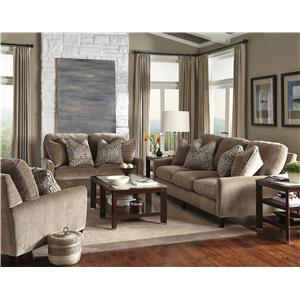 Jackson Furniture Mulholland Casual Contemporary Sofa & Loveseat