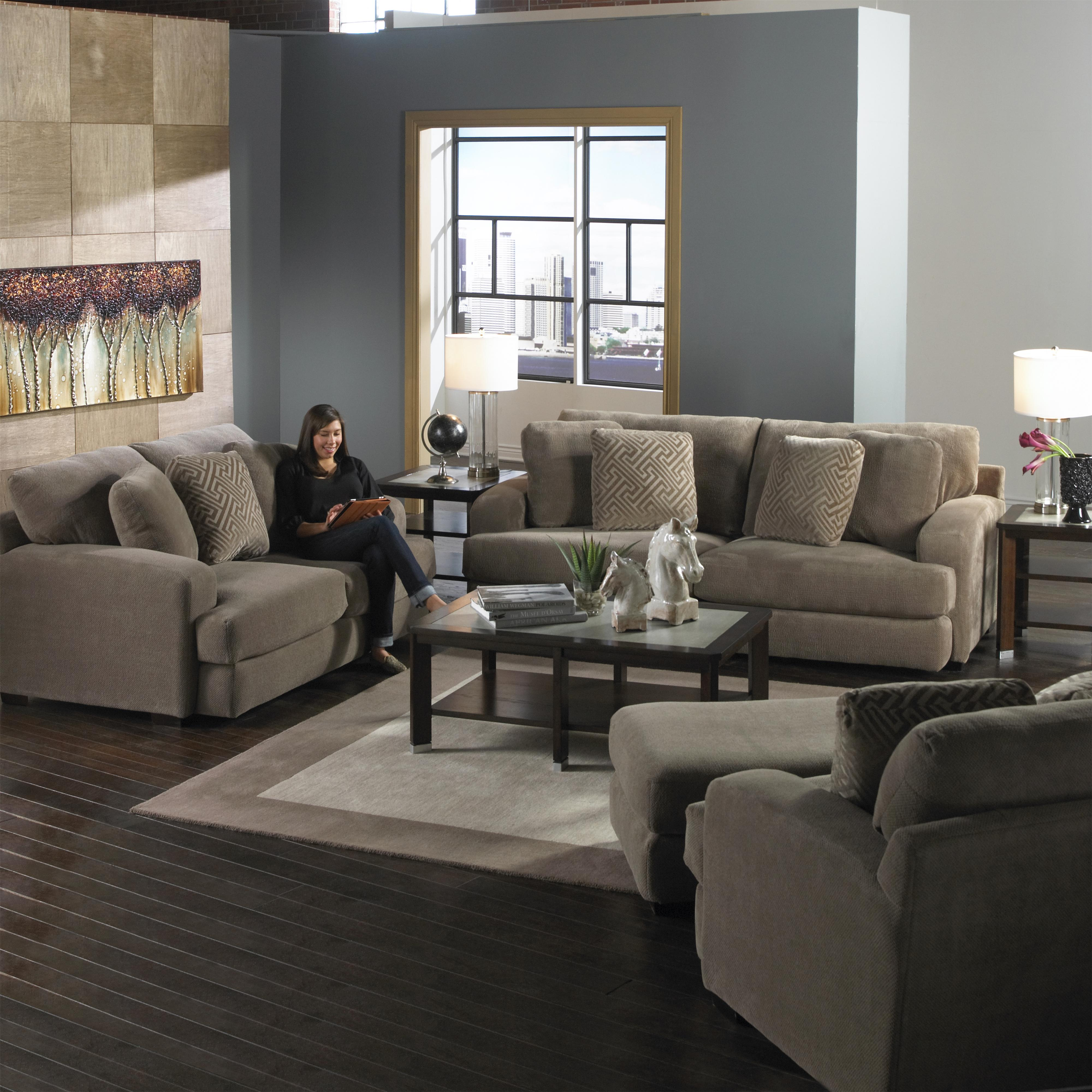 Casual Modern Sofa by Jackson Furniture