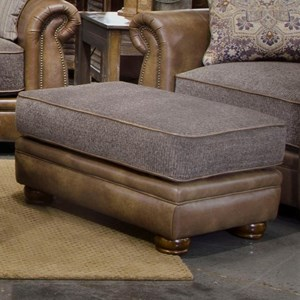 Ottoman with Traditional Style