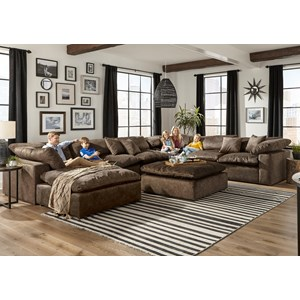 Chaise Sectional with Reversible Chaise