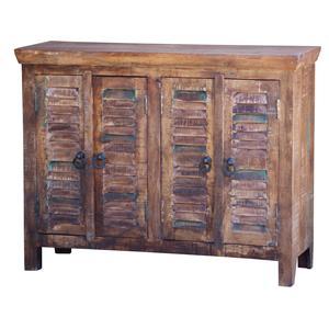 Jaipur Furniture Guru Guru 4 Door Small Shutter Sideboard