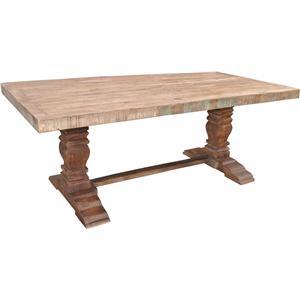 Jaipur Furniture Guru Pedestal Dining Table