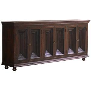 Jaipur Furniture Guru Guru Jumbo Crown Moulding Sideboard