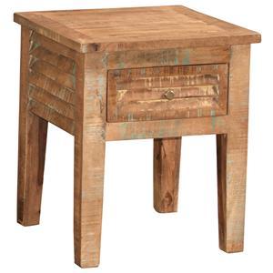 Jaipur Furniture Guru Guru Shutter End Table