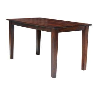 Jaipur Furniture Guru Guru Counter Height Dining Table