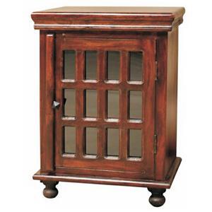Jaipur Furniture Monsoon Glass End Table