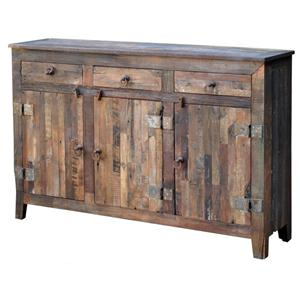 Jaipur Furniture Vintage 3-Door 3-Drawer Sideboard