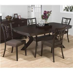 Jofran Ryder Ash 5-Piece Dining Set