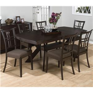 Jofran Ryder Ash 7-Piece Dining Set