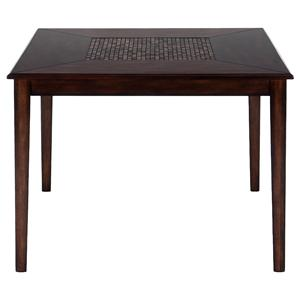 Jofran Baroque Brown Counter Height Table