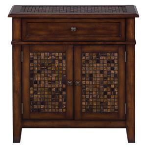 Jofran Baroque Brown Accent Cabinet