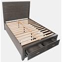 Jofran Altamonte  Queen Panel Bed