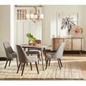 42in. Round Dining Table and Chair Set