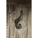 Jofran Artisan's Craft Hall Tree - Coat Hook Detail Shot