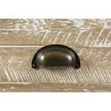 Jofran Artisan's Craft Sofa Table - Drawer Pull Detail Shot