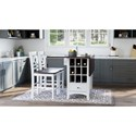3-Piece Counter Height Table and Stool Set