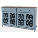 Jofran Aurora Hills 4-Door Accent Chest