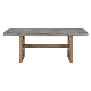 Jofran Boulder Ridge Concrete Dining Table- Rectangle