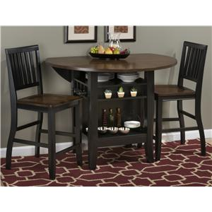 Jofran Pub Table And Stool Set Find A Local Furniture