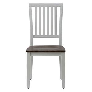 Jofran Braden Birch Slat Back Side Chair