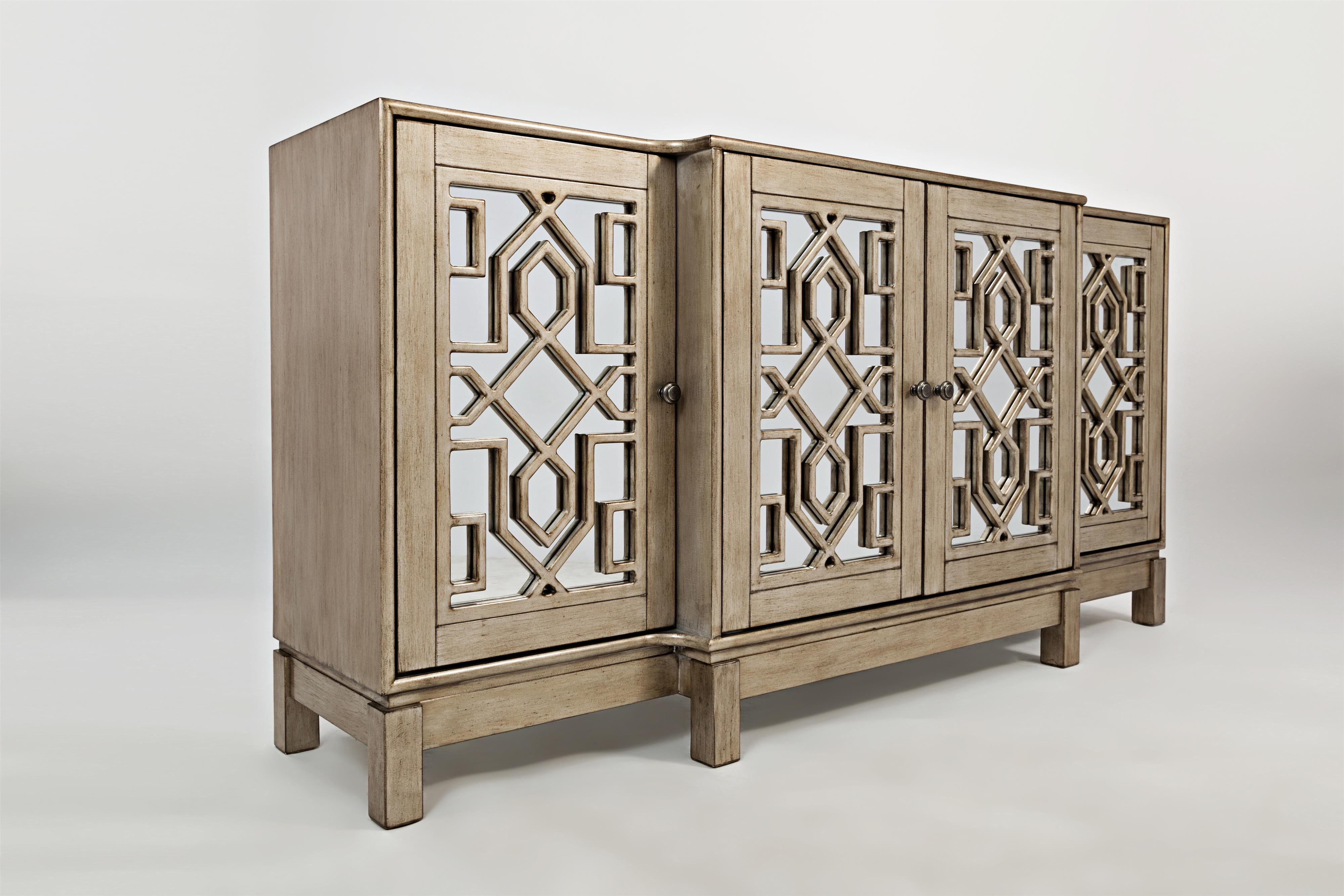 Casa Bella 70 Quot Mirrored Console By Jofran Wolf Furniture