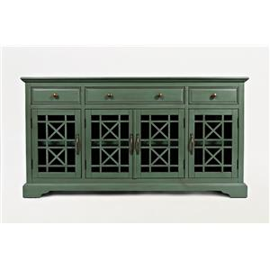 "Jofran Craftsman Antique 60"" Media Unit"
