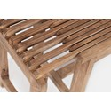 Jofran Global Archive Bradford Extendable Bench