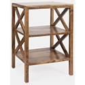 Jofran Global Archive Dylan X-Side Table