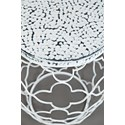 Jofran Global Archive Multi-Dimensional Accent Table - Table Top Detail Shot