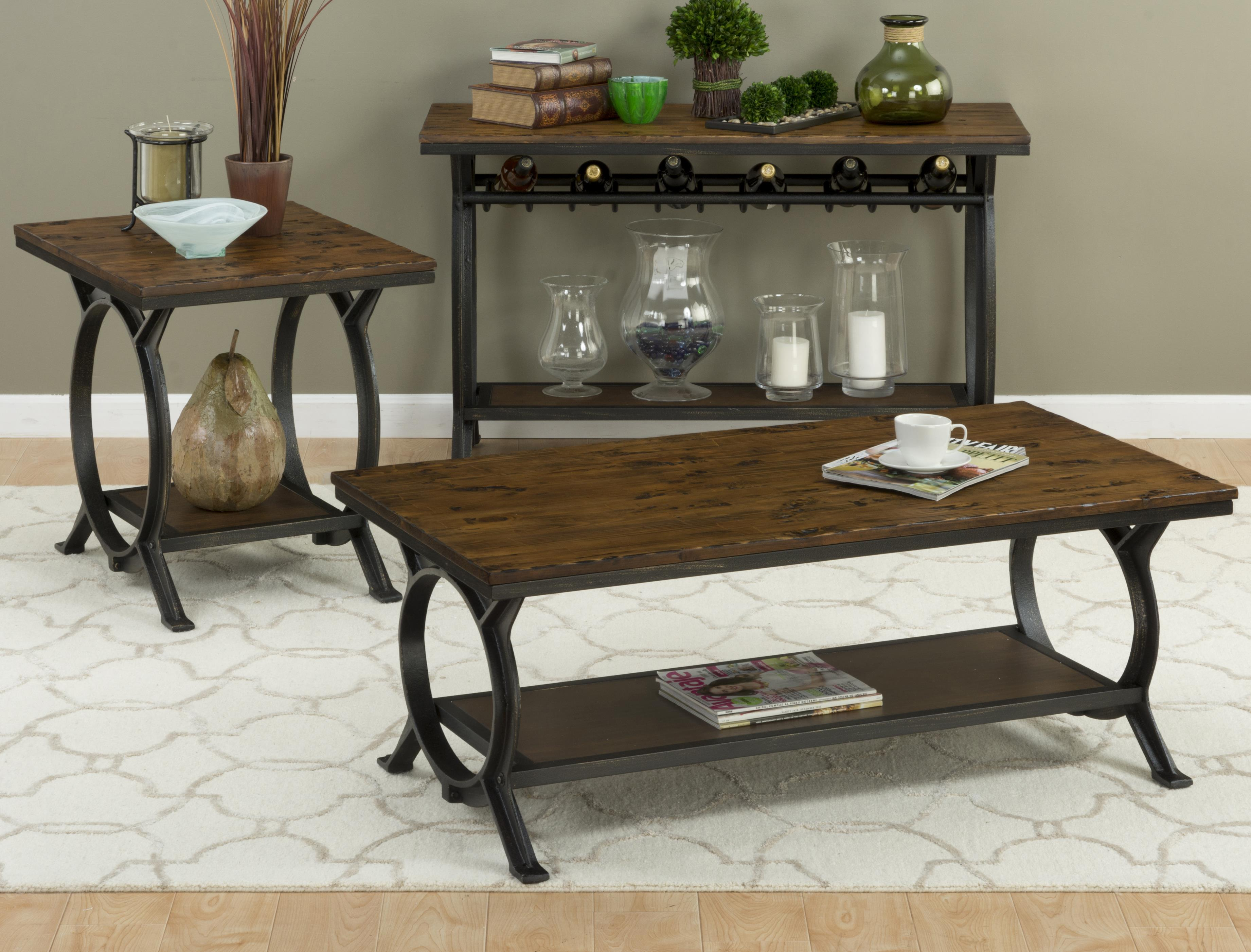 harper s press sofa table with wine rack by jofran wolf and rh wolffurniture com Wine Tables with Storage Underneath Wine Tables with Storage Underneath