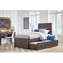 Jofran Jackson Lodge Twin Bed with Trundle