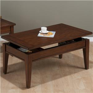 Jofran Dunbar Oak Lift Top Cocktail Table