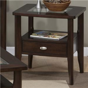 Jofran Montego Square End Table