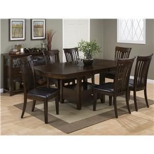 Jofran Mirandela Birch Casual Dining Room Group