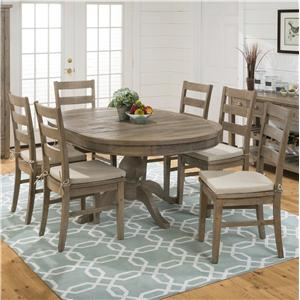 Jofran Slater Mill Pine Table and Chair Set