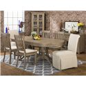 Casual Oval Table Set
