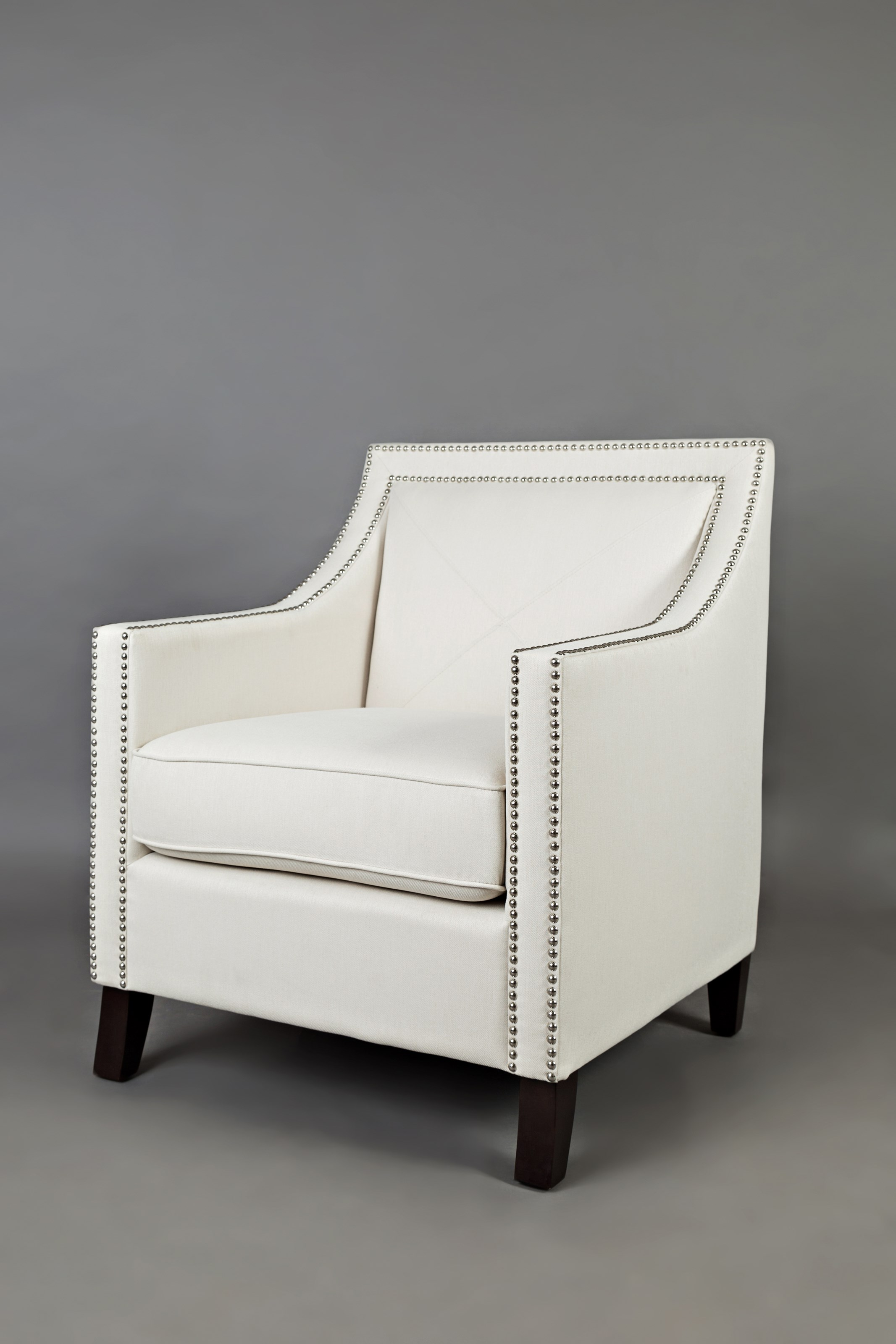 Luca Club Chair & Luca Club Chair with Nail Head Trim by Jofran | Wolf and Gardiner ...