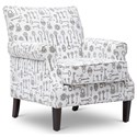 Jofran Accent Chairs Victoria Accent Chair