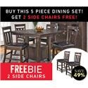 Kodak Dining Set with Freebie!