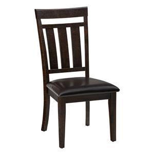 Jofran Kona Grove Upholstered Slat back Dining Chair