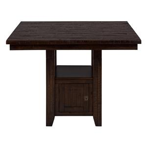 Fixed Pub Table with Storage Base