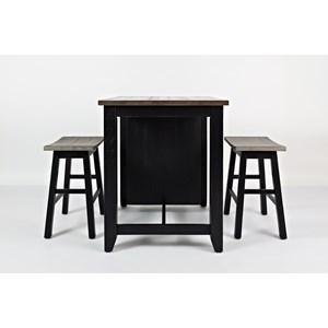 Pub Table And Stool Set