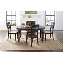 Jofran Madison County Round to Oval Dining Table
