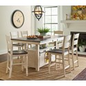Jofran Madison County High/Low Dining Table