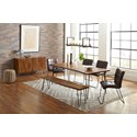 79in. Dining Table and Chair Set